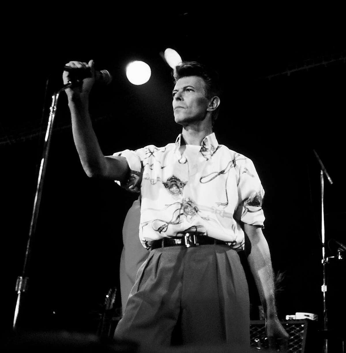 Slim's 20th anniversary. David Bowie September 12, 1991.
