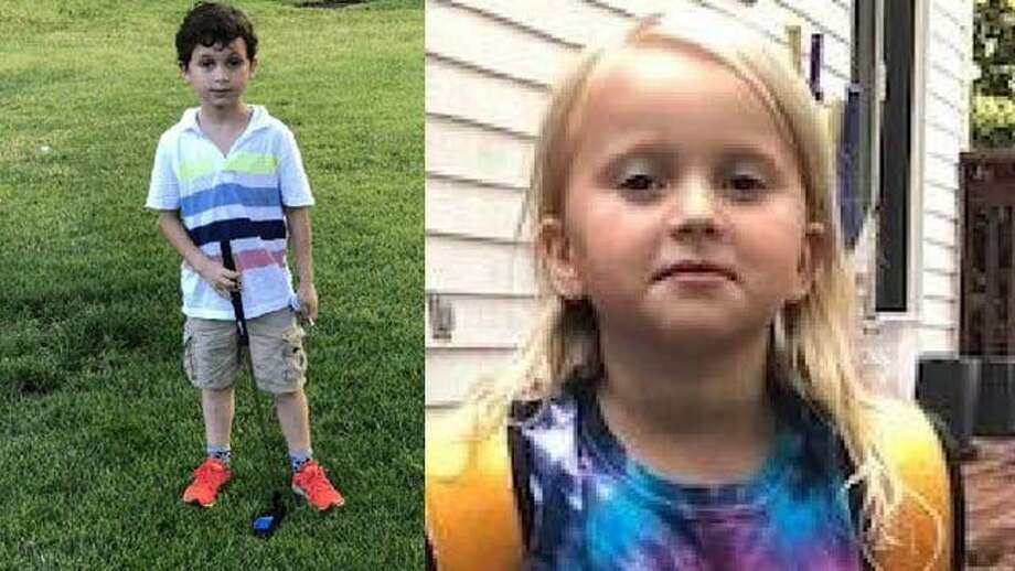 State Police have issued a Silver Alert for a missing brother and sister from New Canaan on Tuesday, Sept. 11, 2018. Arlo Cohen, 7; Jessica Cohen, 5, were last seen on Monday, state police said. Photo: New Canaan Police Department