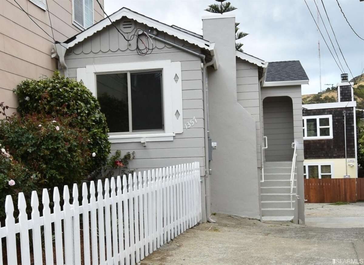This is how how a house in San Francisco listed for $599,000 (pictured) compares to one listed for the same price in San Antonio.Click through the slideshow to see the difference between the two homes.