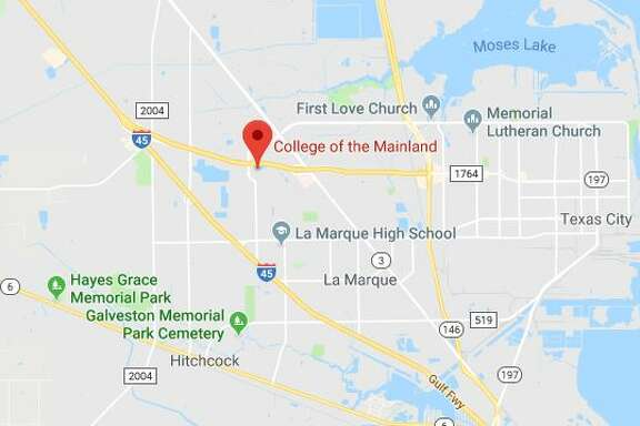 The College of the Mainland main campus in Texas City is closed today.