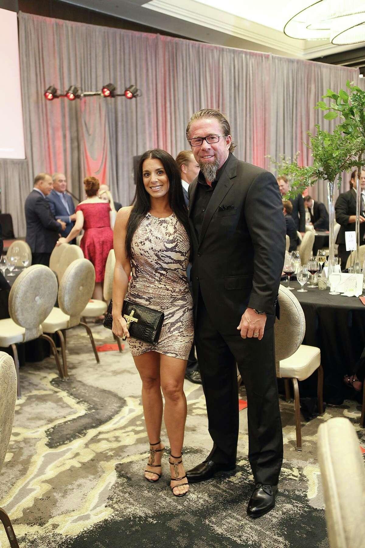 Rachel and Jeff Bagwell