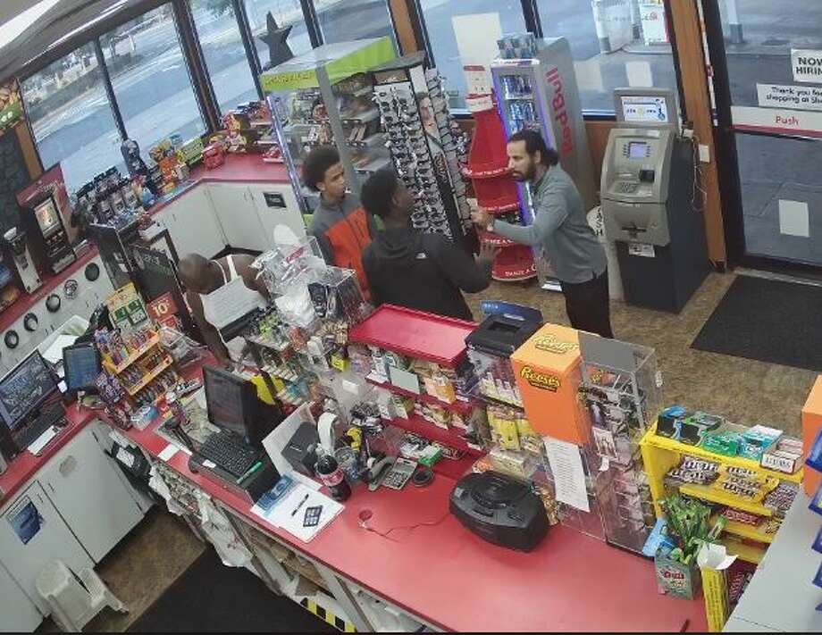 Auburn police shared the video to Facebook on Monday night in hopes of identifying the customers caught on camera. Photo: Auburn Police Department