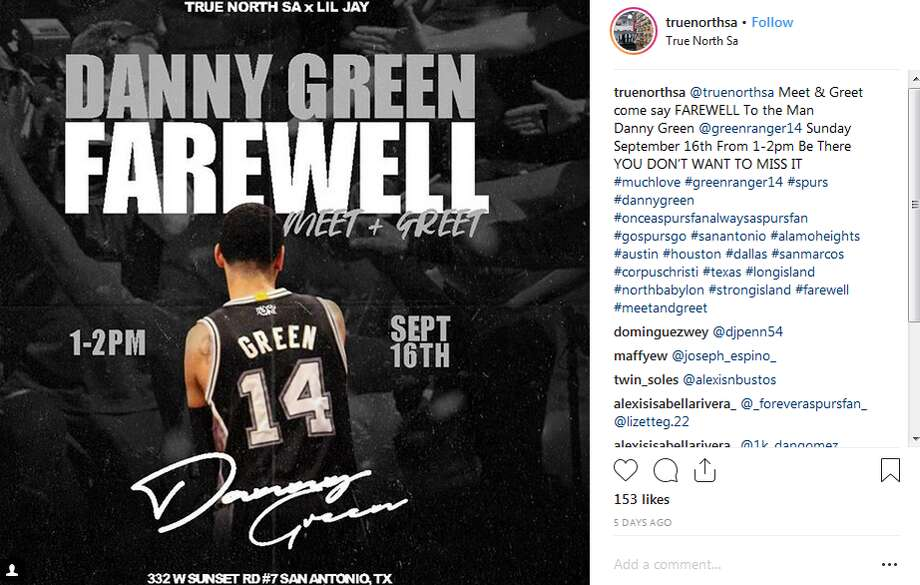 "True North SA, the store hosting the farewell, promoted the meet-and-greet on Instagram as an event fans ""don't want to miss."" Photo: Instgram Screengrab"
