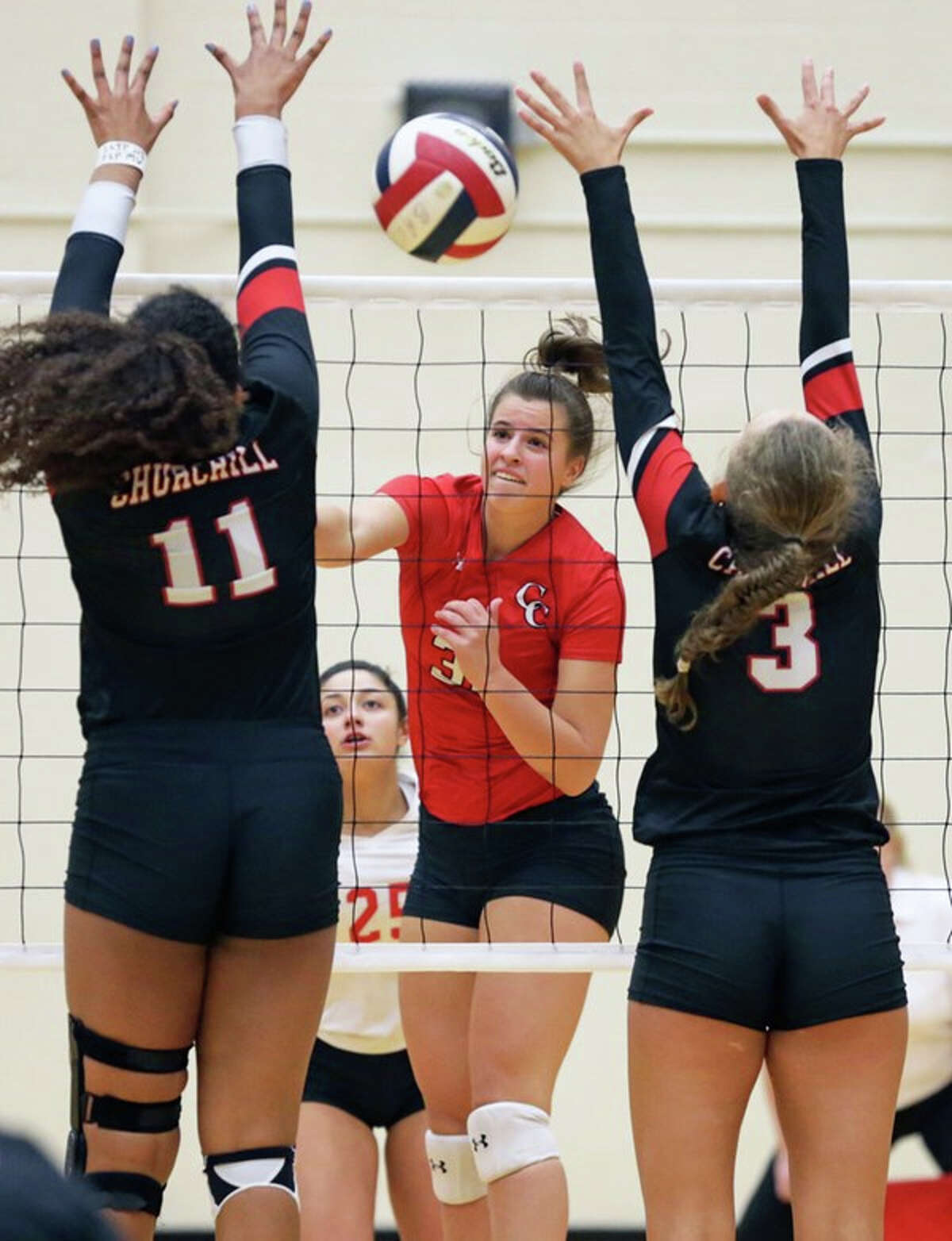 Kylie TrefflichNew Braunfels Canyon volleyball: 18 kills, 11 digs, 0.5 block in sweep of rival New Braunfels Vote for the Athlete of the Week here.