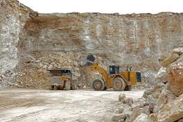 Cemex's Balcones Quarry in New Braunfels has been operating for close to five decades.