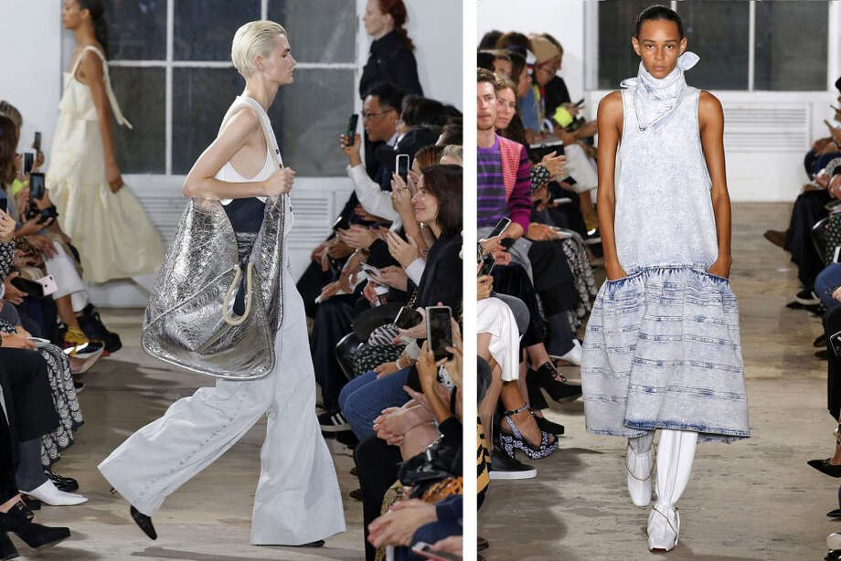 Proenza Schouler Spring Summer 2019 Collection. Photo: Photo For The Washington Posst By Jonas Gustavsson, MCV Photo / Jonas Gustavsson, MCV Photo