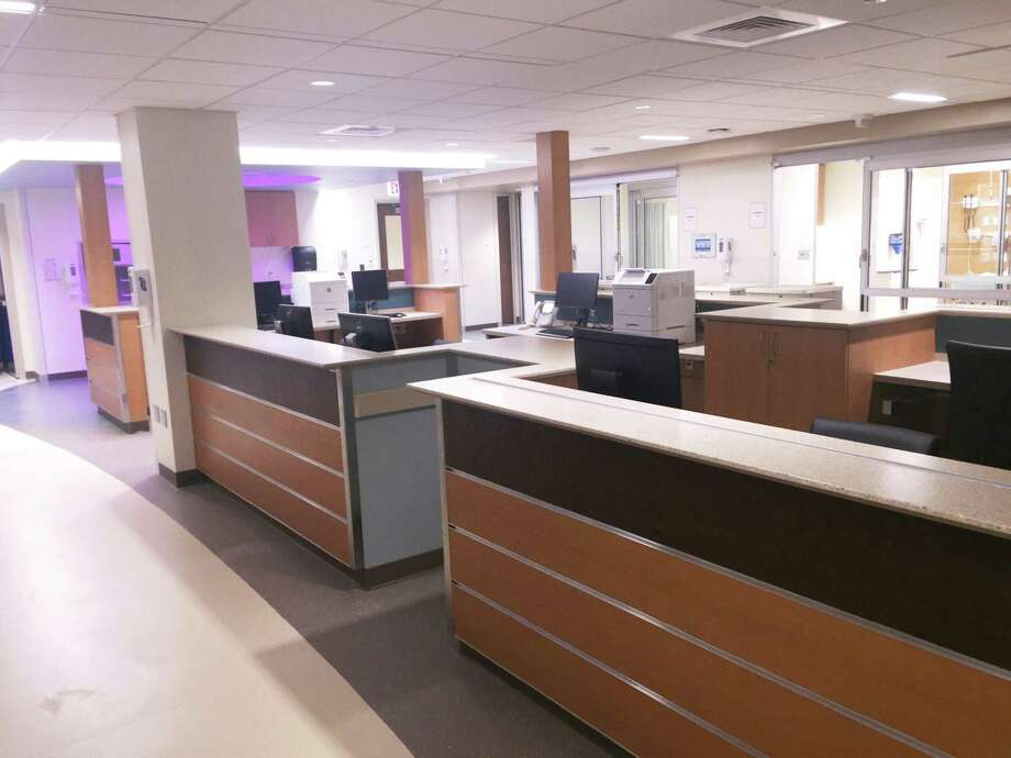Charlotte Hungerford Hospital's newly renovated emergency department. The hospital is holding its 'Dinner with a Doc' health talk series. Photo: Contributed Photo / Not For Resale