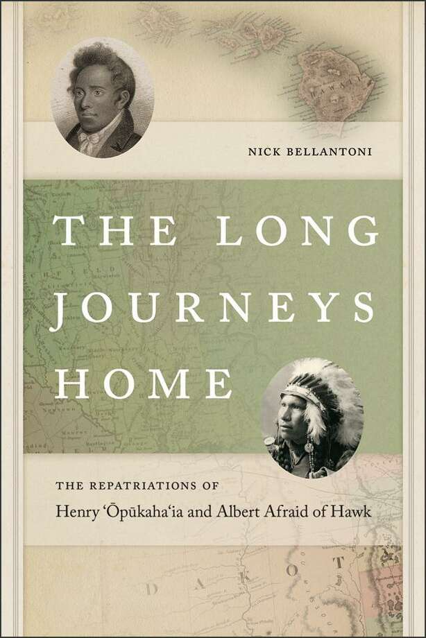 "LITCHFIELD — The Litchfield Historical Society is hosting a talk with the former Connecticut State Archaeologist Nick Bellantoni about his new book, ""The Long Journeys Home: The Repatriations of Henry 'Opukaha'ia and Albert Afraid of Hawk,"" on Sunday, Sept. 23 at 3 p.m. Photo: Contributed Photo"