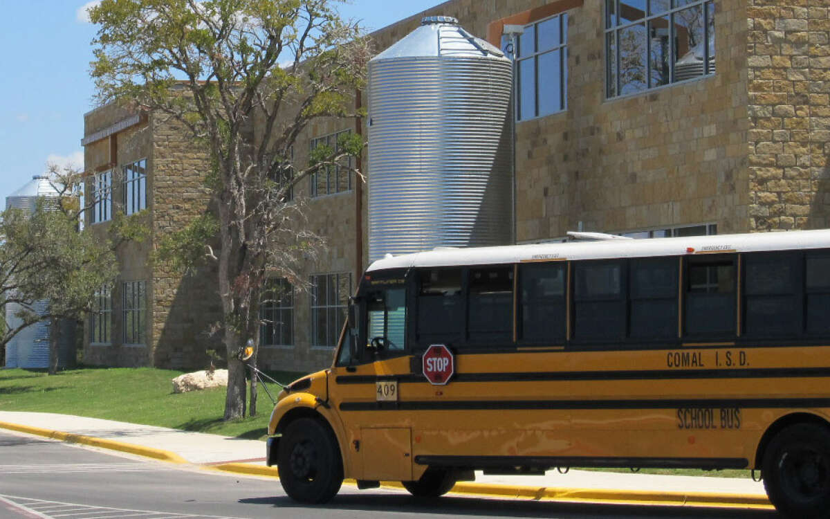 Kinder Ranch Elementary School is within the Comal ISD.