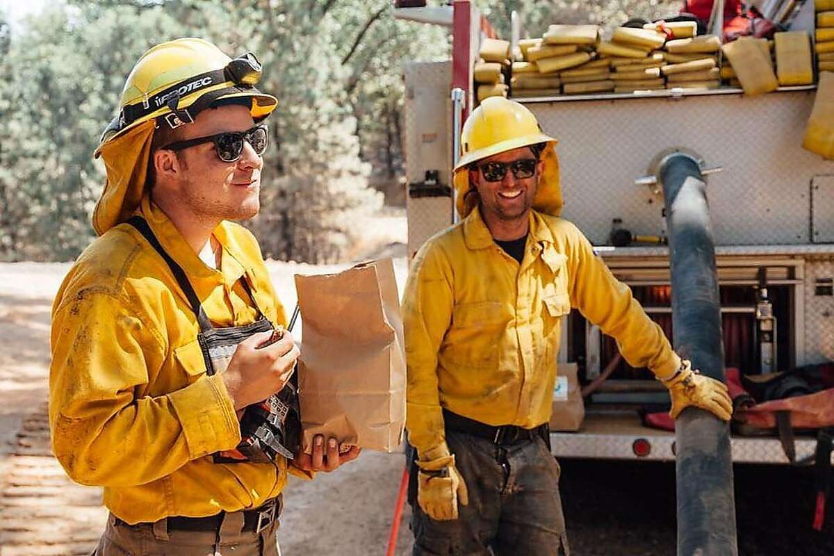 Cookies for firefighters at the Mendocino Complex Fire