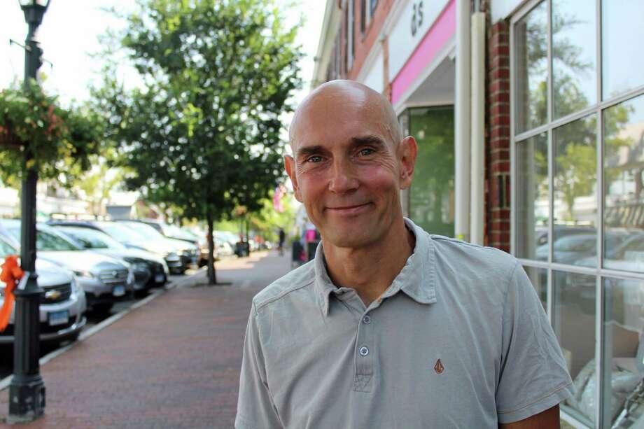 Carl Asker, ultramarathoner and running coach. Photo: Humberto J. Rocha / Hearst Connecticut Media / New Canaan News
