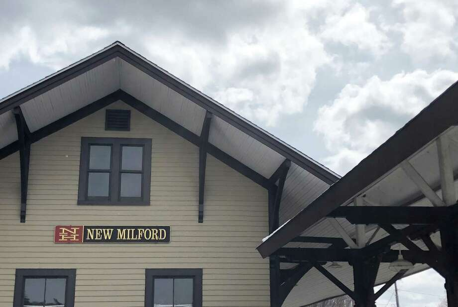 The railroad station on Railroad Street in New Milford, houses the Greater New Milford Chamber of Commerce and Gallery 25. Photo: Deborah Rose / Hearst Connecticut Media / The News-Times  / Spectrum