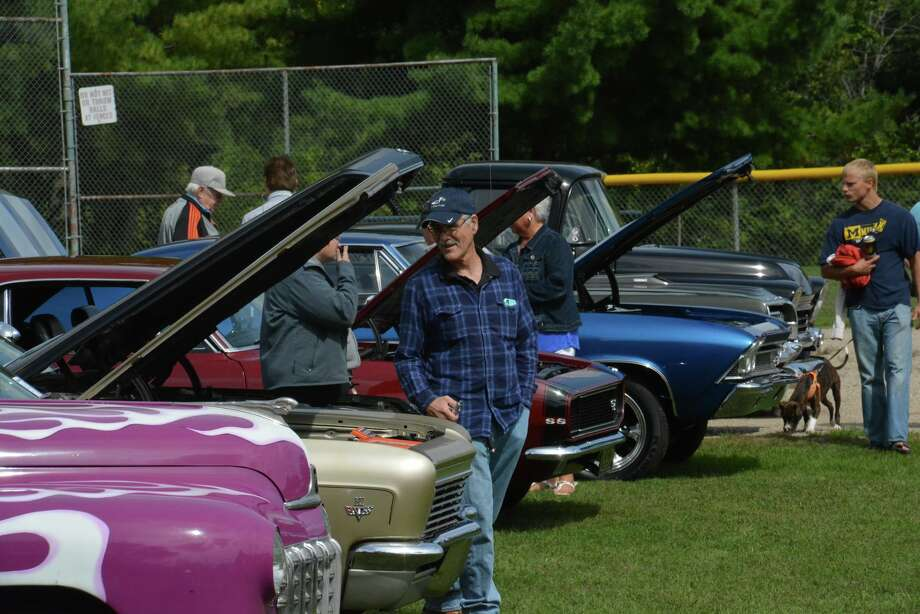A scene from the car show during Sanford Founders Day on Saturday, Sept. 8, 2018 in Sanford. (Photo provided/P3 Images) Photo: Photo Provided/P3 Images