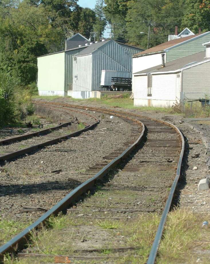 These tracks leading away from the New Milford train station, might one day again be used for passenger rail service. Photographed September 21, 2010. Photo: Chris Ware / ST / The News-Times