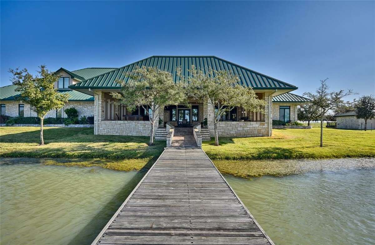 El Corazon Ranch - 23407 FM 362 Road, WallerList price: $13.95 millionFeatures: Four homes, 21-acre lake, barn apartment, barn for raising doves, high-fencing for exotic game.See the full listing.