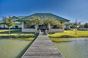 El Corazon Ranch - 23407 FM 362 Road, Waller  List price: $13.95 million for one of several parcels Features: Four homes, 21-acre lake, barn apartment, barn for raising doves, high-fencing for exotic game.   See the full listing .