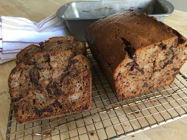 Batter Bakery's Chocolate Pear Bread.