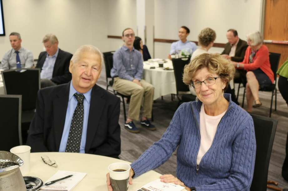 """Were you Seen at the RE/Max Platinum-sponsored Capitol Confidential  breakfast forum """"The Kaloyeros Trial and the Future of SUNY Poly"""" at the Hearst Media Center on Sept. 11, 2018? Photo: Amanda Case"""