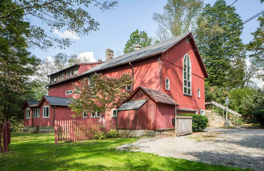 The home at 391 Kent Cornwall Road in Kent was originally a dairy barn built in 1900 for a farm that stretched down the road and across Route 7. Photo: Contributed Photo / The News-Times Contributed