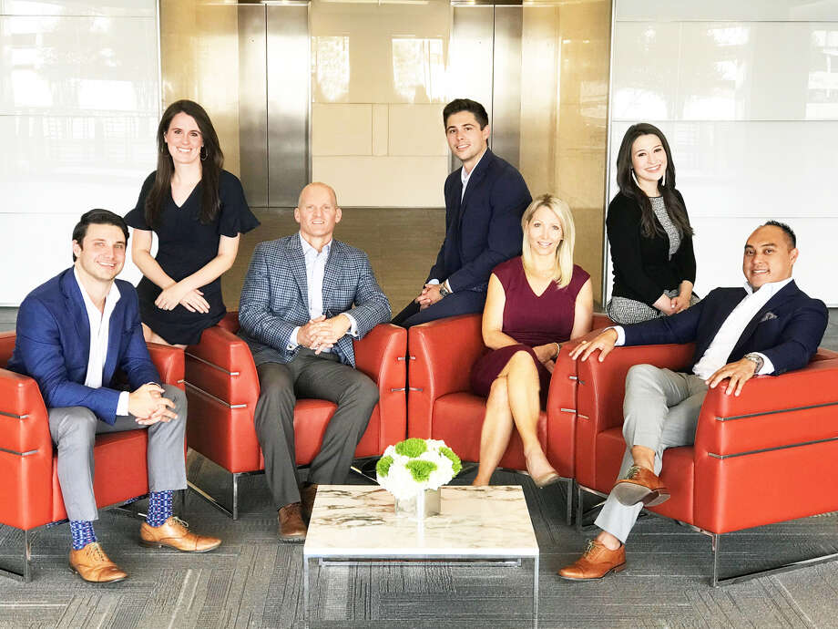 Dallas-based Shop Cos. has established a Houston office. Pictured from left are Tyler Trevino, Suzy Thompson, Matt Reed, Gunnar Holman, Christie Amezquita, Jillian Davis and Chris Reyes. Photo: Shop Cos.