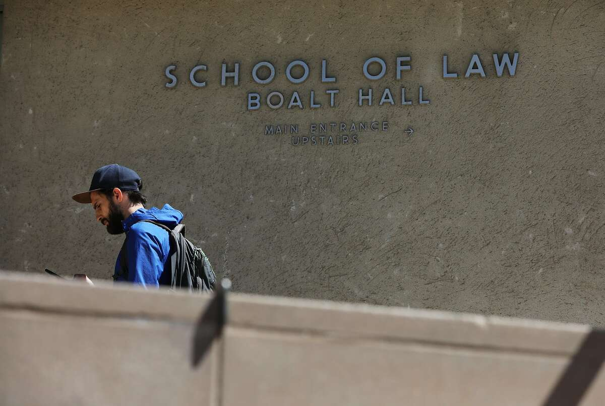Exterior of Boalt Hall at the University of Berkeley's School of Law in Berkeley, Cali. on Tuesday, September 11, 2018. There is a recommendation to get rid of that name because John Boalt was racist.