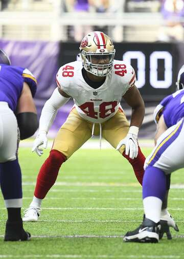 572686bd980 49ers happy circumstances led them to linebacker Fred Warner ...