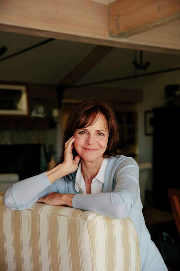 """Sally Field, whose new memoir """"In Pieces"""" is out soon, at home in Pacific Palisades, Calif., Aug. 29, 2018. Though """"In Pieces"""" does delve into some of Field's famous roles and relationships, it is no traditional showbiz autobiography, illuminating a life darkened by abuses and cruelties that are frustratingly commonplace for women, in Hollywood and out. (Brinson+Banks/The New York Times) Photo: BRINSON+BANKS / NYTNS"""