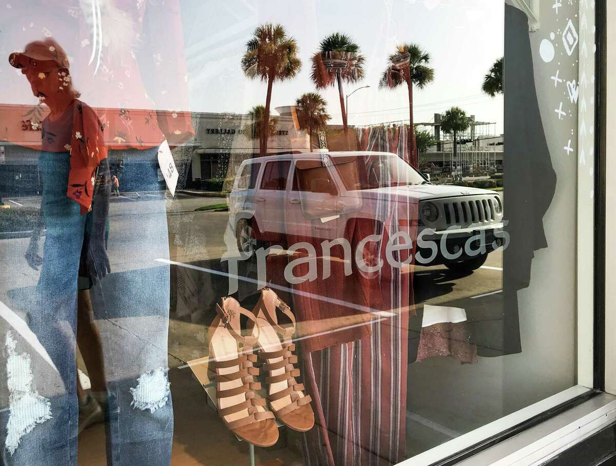 Francesca's, a women's apparel and accessories retail chain store, in the River Oaks Shopping Center Aug. 14, 2018 in Houston.