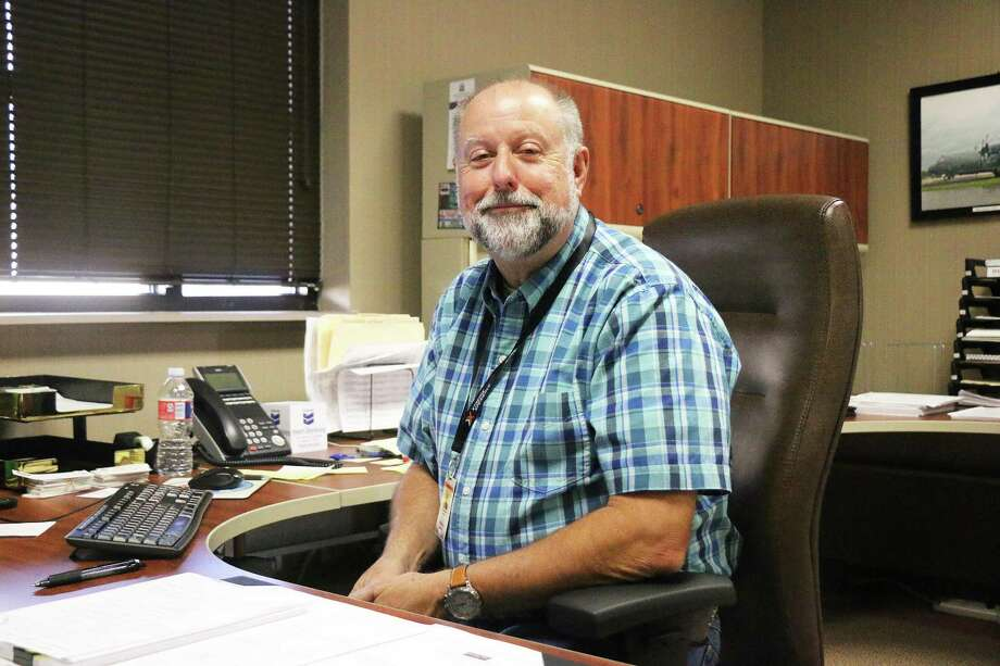 Tom Warner is already seated in his new office and working feverishly to get organized for his new role as city manager. Photo: David Taylor / HCN