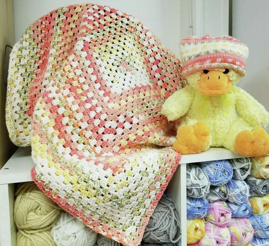 You can knit or crochet a baby gift fairly quickly. Photo: Ginger Balch / Contributed Photo /