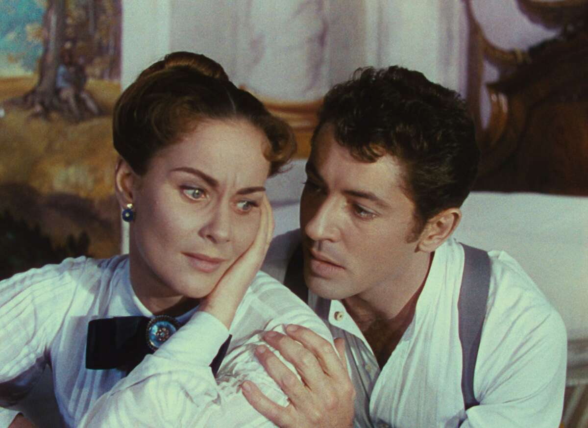"""Alida Valli (left) and Farley Granger star in """"Senso,"""" (1954), playing as part of a Luchino Visconti retrospective at the Berkeley Art Museum's Pacific Film Archive."""