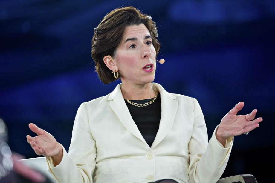 Rhode Island Gov. Gina Raimondo speaks during a panel discussion at the Goldman Sachs 10,000 Small Businesses Summit in Washington on Feb. 13, 2018. Photo: Bloomberg Photo By Andrew Harrer. / © 2018 Bloomberg Finance LP