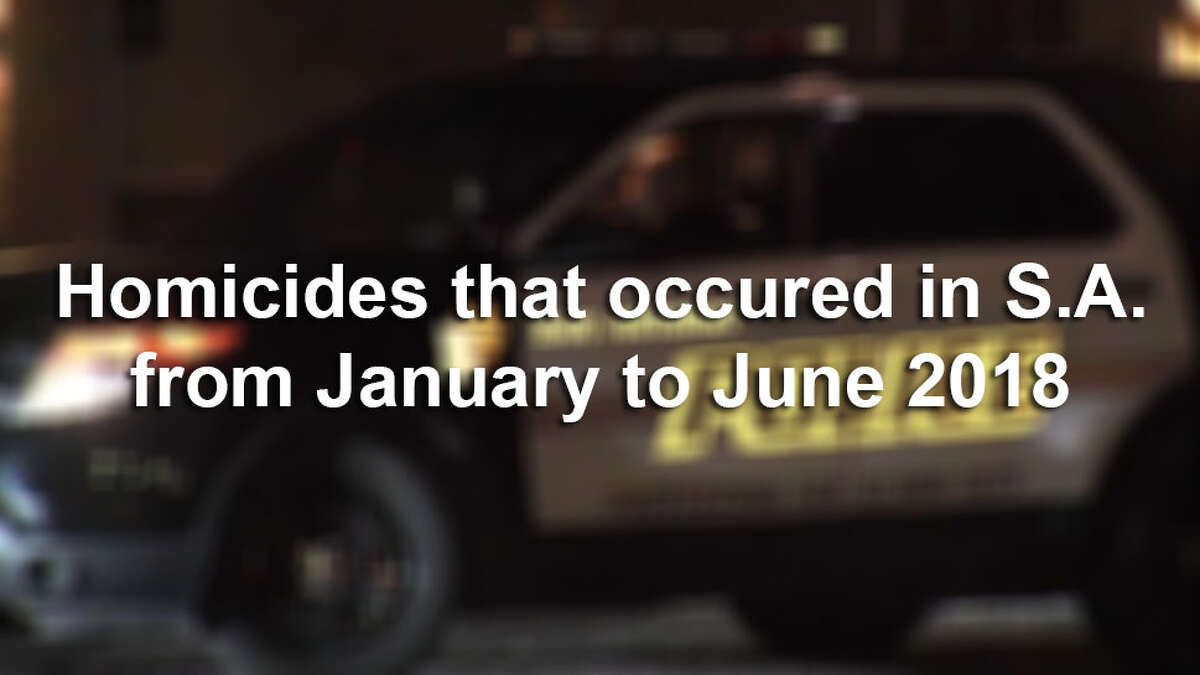 The San Antonio Police Department's uncleared homicide rate for the first half of the year is at 41 percent.Click through the slideshow for a comprehensive list of every homicide in San Antonio from January to June and the status of each investigation.