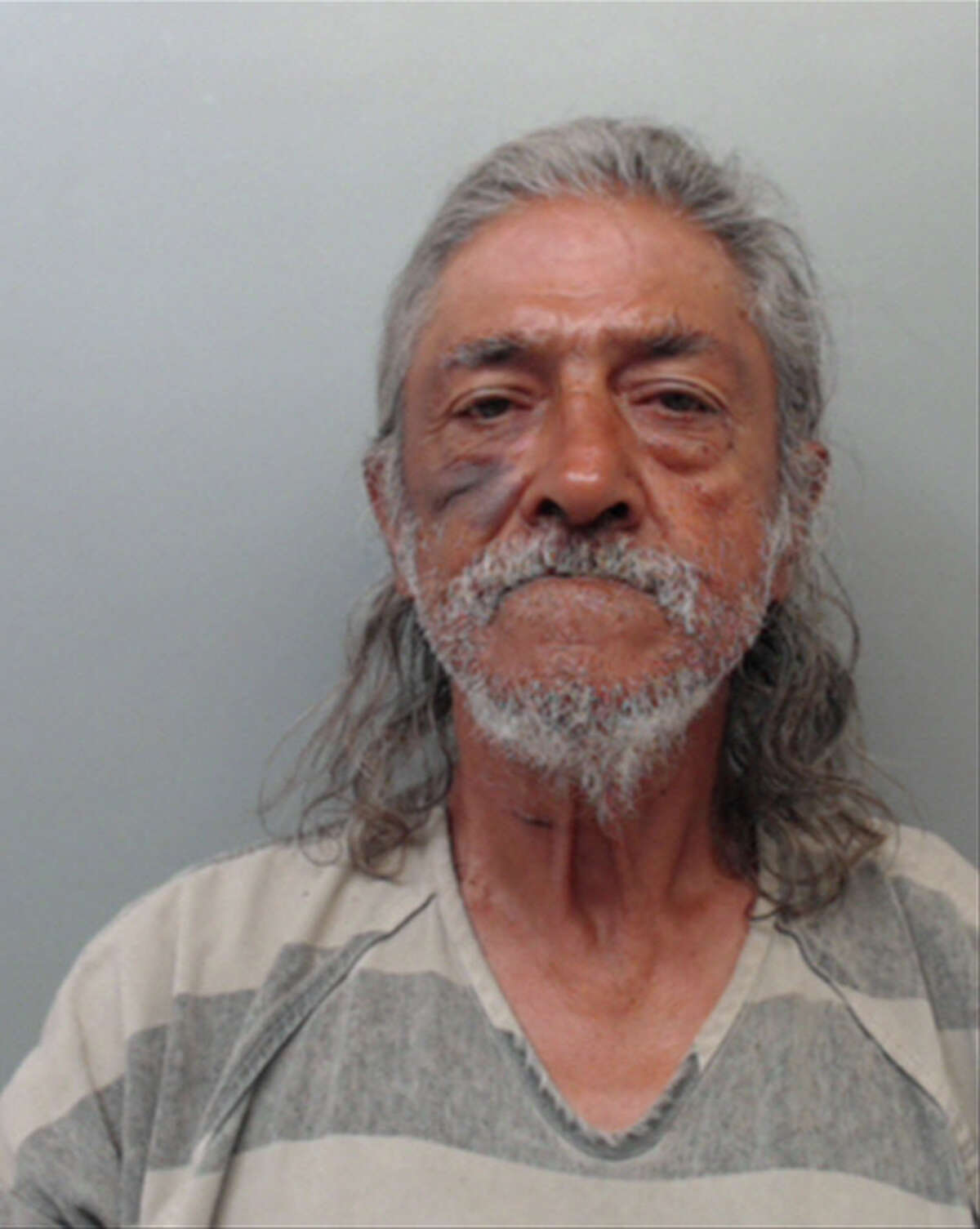 Francisco Javier Aranda, 67, was charged with aggravated assault with a deadly weapon.