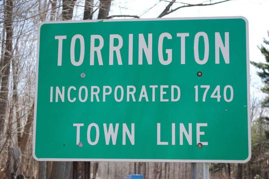 The sign for the city of Torrington, Connecticut. Photo: Viktoria Sundqvist / Hearst Connecticut Media