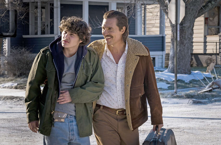 "Matthew McConaughey, right, and newcomer Richie Merritt play father and son in ""White Boy Rick."" Photo: Scott Garfield, Sony Pictures Entertainment / © 2018 CTMG, Inc."