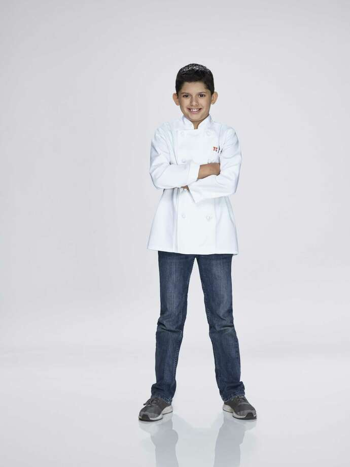 """Eric Martinez, from Spring, Texas, is on the latest season of """"Top Chef Junior."""" Photo: Cady Meshnick / NBCUniversal / Cady Meshnick / NBCUniversal / 2018 Universal Kids, LLC"""