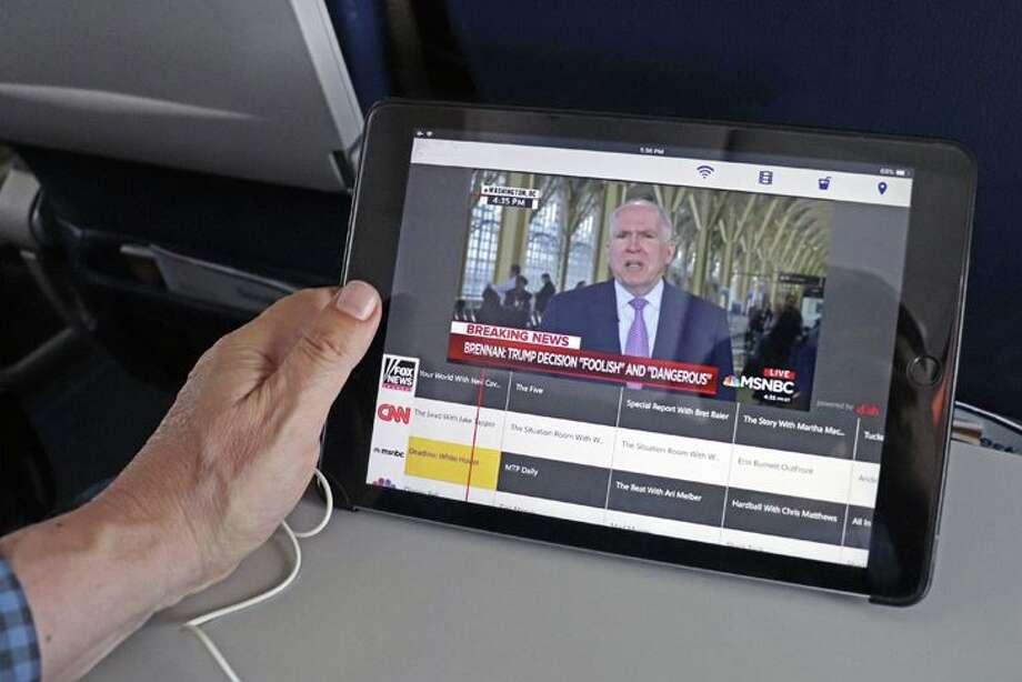 American is bringing live DISH TV streaming programming to its domestic fleet. (Image: Jim Glab) Photo: Jim Glab