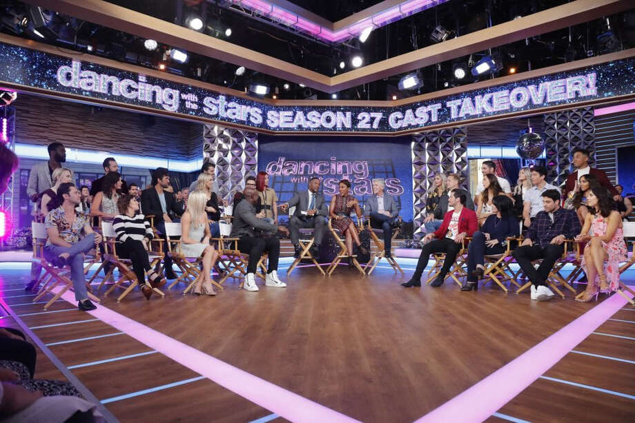 "The cast of Season 27 of ""Dancing With the Stars"" is revealed live on ""Good Morning America."" Photo: Lou Rocco, ABC / ABC"