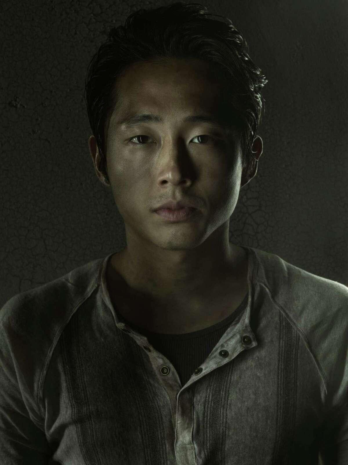 Steven Yeun, who plays Glenn in