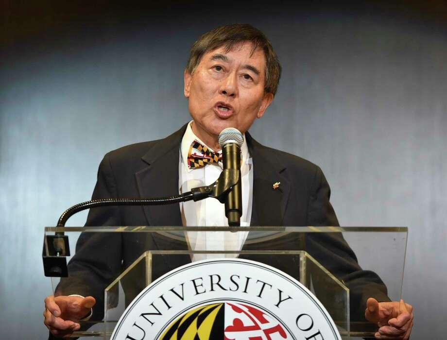 The University of Maryland President Wallace Loh. Photo: Washington Post Photo By Bill O'Leary / The Washington Post