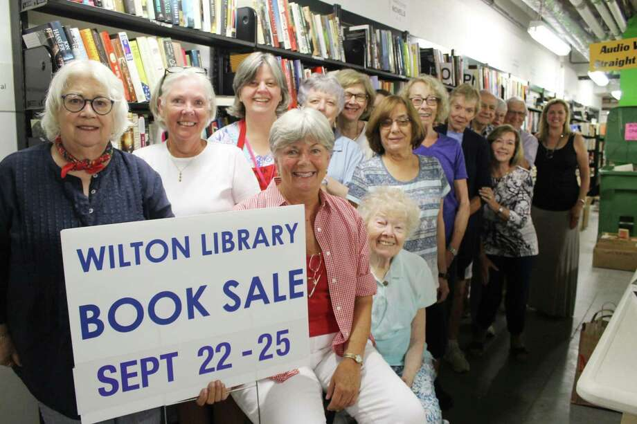 Wilton Library's Awesome Autumn Book Sale takes place Saturday, Sept. 22 through Tuesday, Sept. 25. New for this fall fundraiser is one extra day of smart shopping for buyers with purchases at $5 per bag on the final day. Photo: Contributed Photo / Contributed Photo / Norwalk Hour contributed