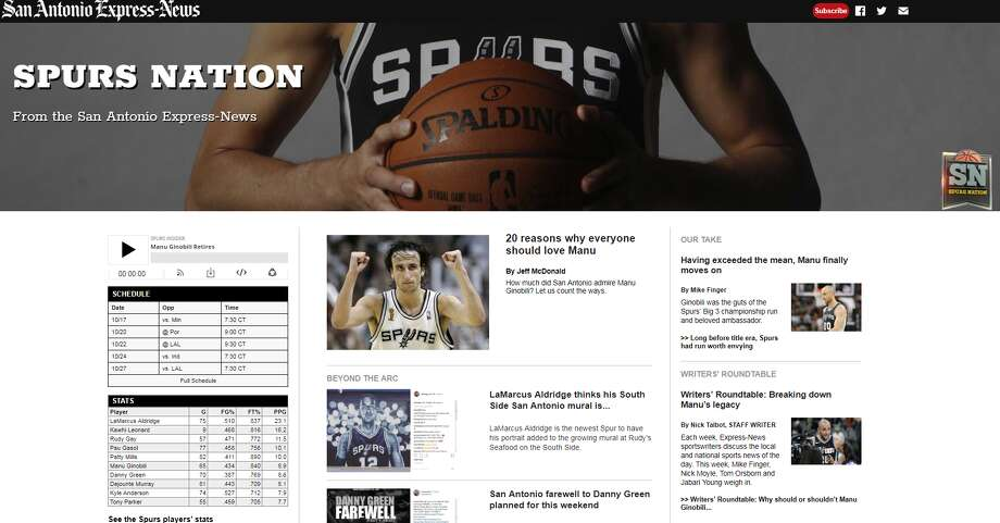 Spurs Nation, available exclusively on ExpressNews.com. Photo: Screengrab