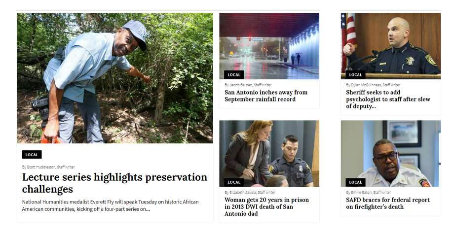A new ExpressNews.com section. Photo: Screengrab