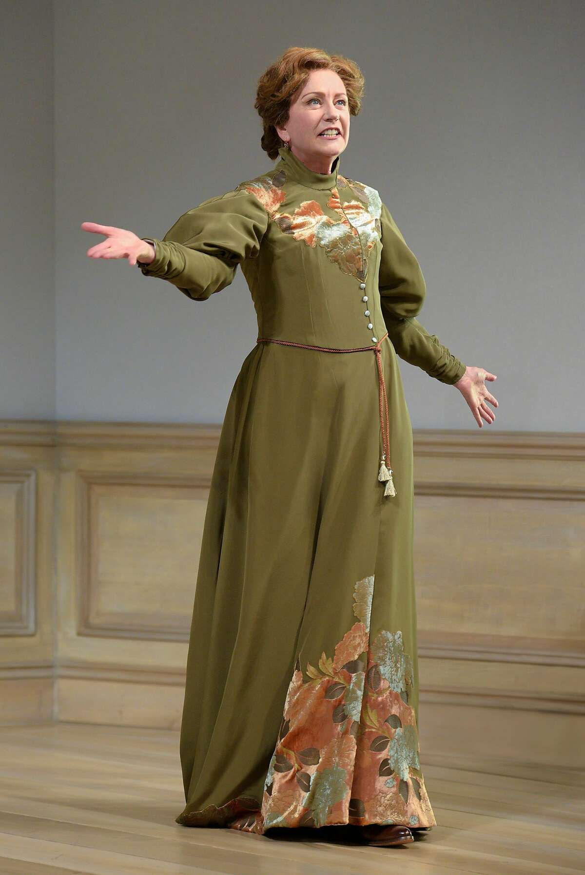 """Mary Beth Fisher as Nora in Berkeley Rep�s """"A Doll�s House, Part 2."""""""