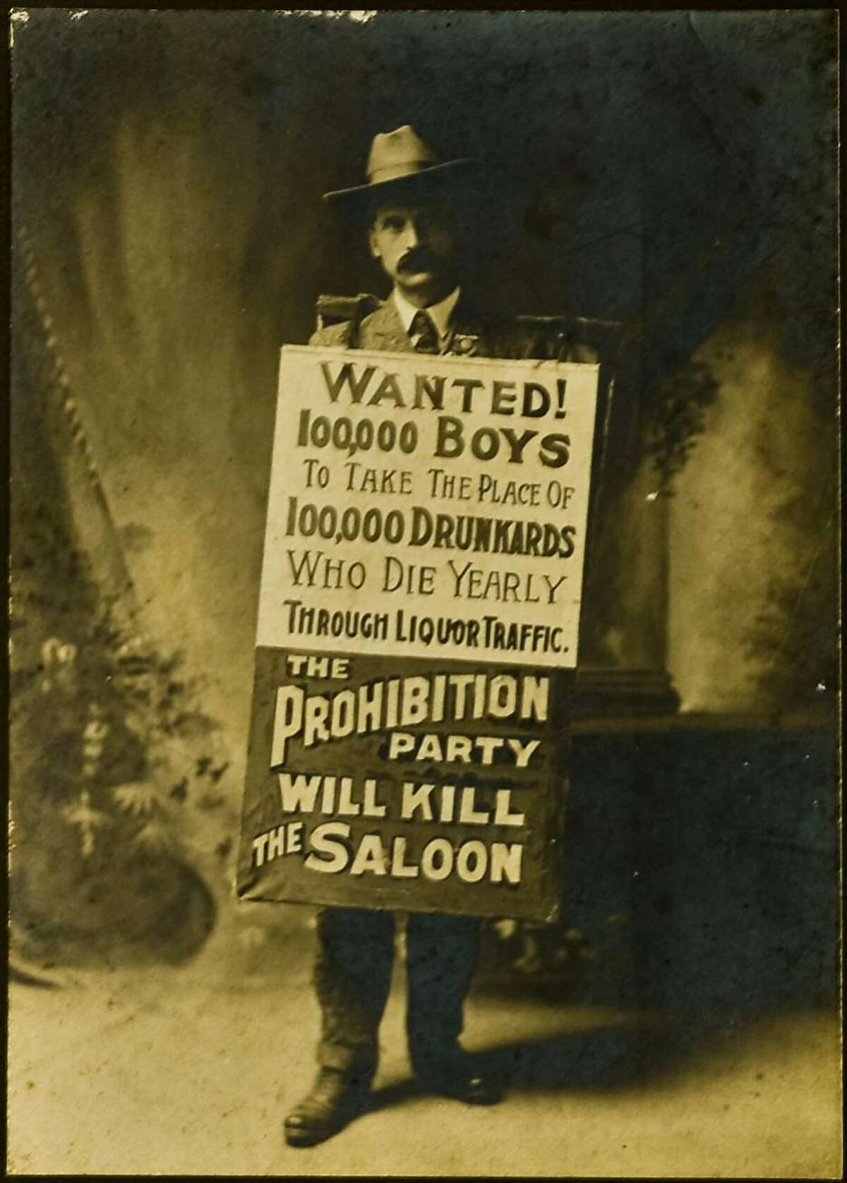 Undated portrait from the prohibition era in San Francisco.