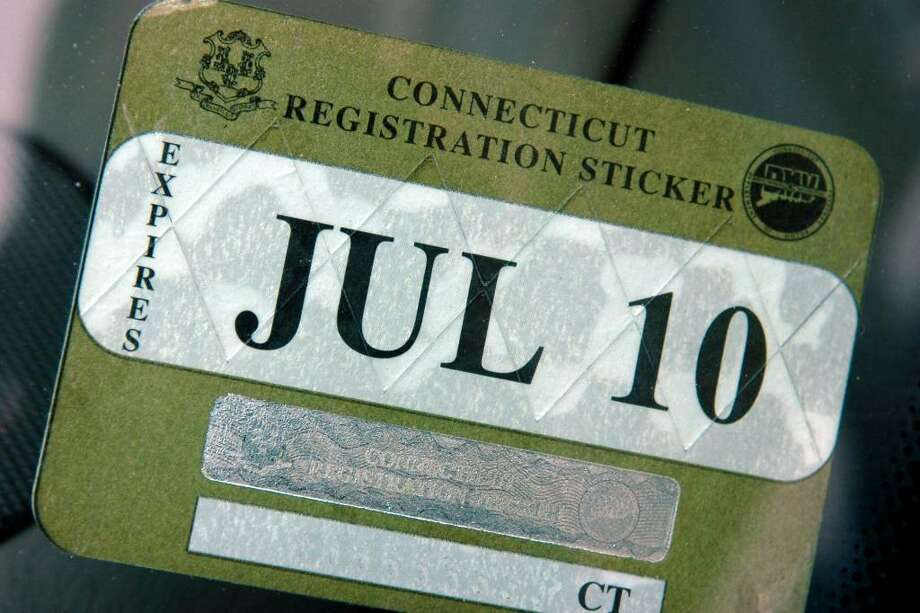 DMV plans to halt registration stickers - Connecticut Post