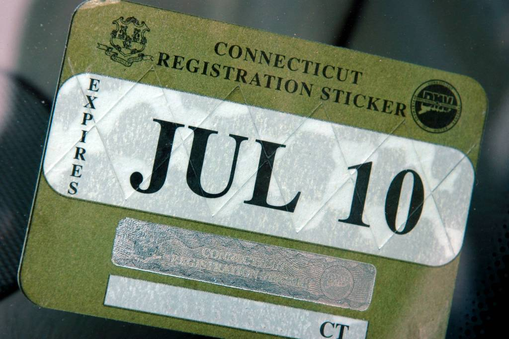 Dmv plans to halt registration stickers connecticut post for National motor vehicle license organization
