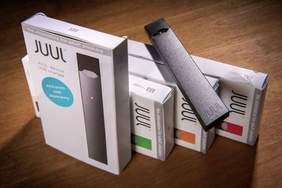 Juul Labs is one of five e-cigarette manufacturers that must submit plans to federal regulators detailing ways to sharply curb sales to underage consumers. Photo: Washington Post Photo By Bill O'Leary / The Washington Post