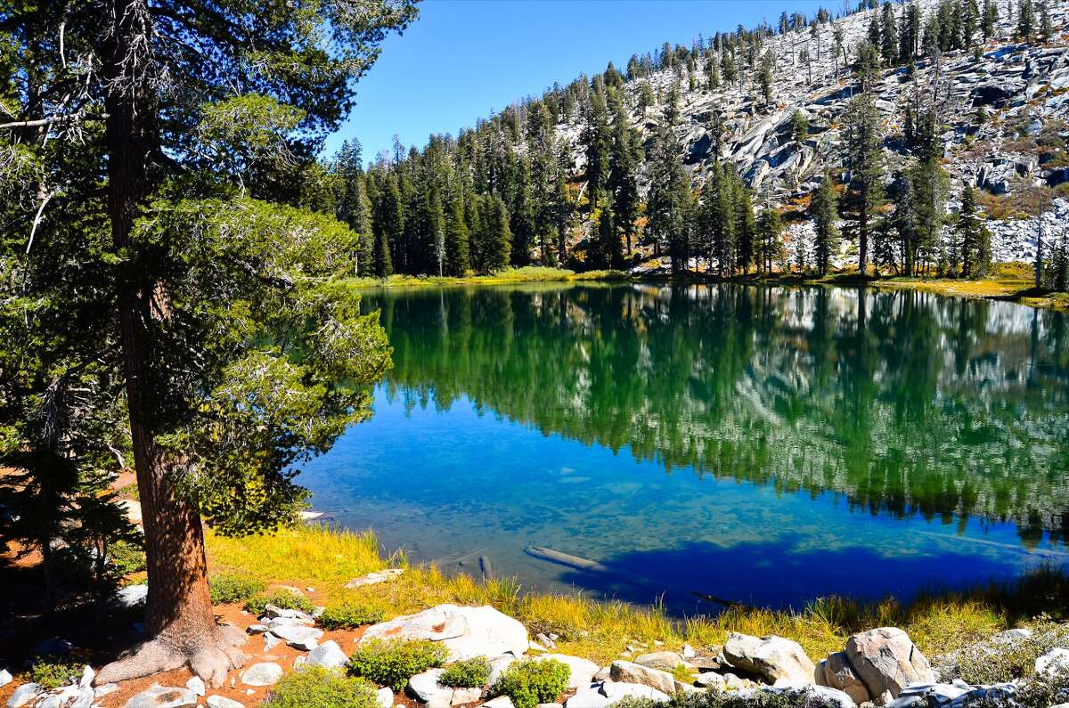 Kings Canyon National Park's gorgeous high-elevation lakes are good places to avoid the crowd.